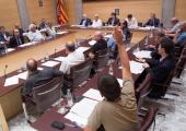CUP Ple Diputació Girona